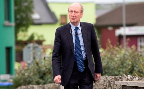 'In any case, given the controversies swirling around Mr Ross right now, he would be well advised to make love, not war with Fine Gael on this one.' Photo: Mark Condren