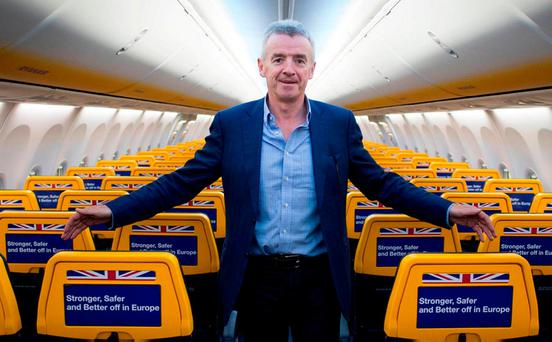 Outspoken: Ryanair boss Michael O'Leary. Photo: Stefan Rousseau/PA Wire