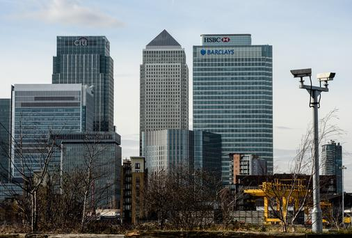 Reuters said the perception among big banks in London is of a cautious response from Dublin. Photo: Chris Ratcliffe/Getty Images