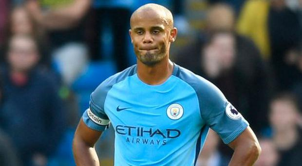 Vincent Kompany's latest injury has left him fighting to save his career. Photo: Michael Regan/Getty Images