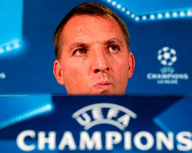 Brendan Rodgers has plenty to think about. Photo: Andrew Milligan/PA Wire