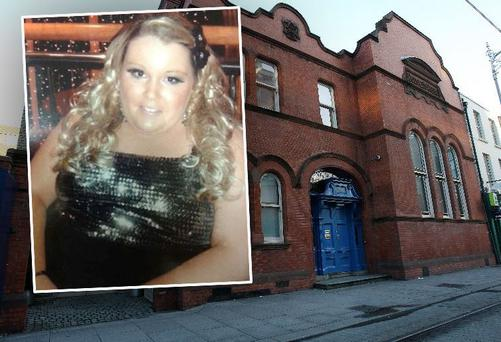 Jessica Bingham (21) and (main photo) Dublin Coroner's Court