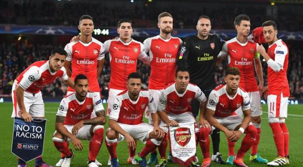 Arsenal are already assured of reaching the last 16.CREDIT: GETTY IMAGES