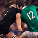 The video evidence of Sam Cane's challenge on Robbie Henshaw was irrefutable. Photo: Sportsfile