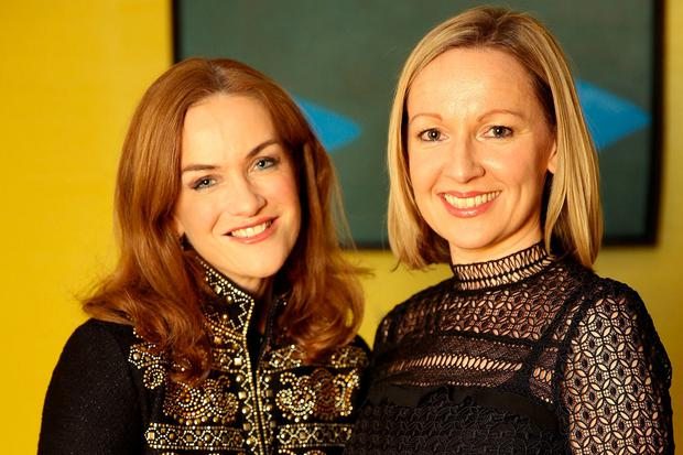 Rhona Mahony and Lucinda Creighton. Photo: Gerry Mooney