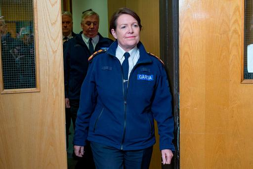 Garda Commissioner Nóirín O'Sullivan. Photo: Arthur Carron