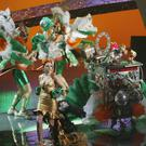 Irelands Dustin The Turkey during Dress Rehersals for the Eurovision Song Contest in Belgrade Serbia. KOBPIX