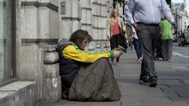 Dublin City Council has announced plans to launch a winter initiative to house all rough sleepers in emergency accommodation. (Stock image)
