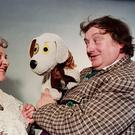 Nora O'Mahony and Eugene Lambert in 'Wanderly Wagon' in 1978