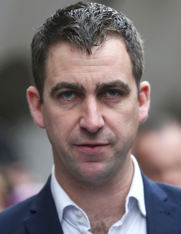 Brendan Cox, husband of MP Jo Cox, outside the Old Bailey after the conviction. Photo: Reuters