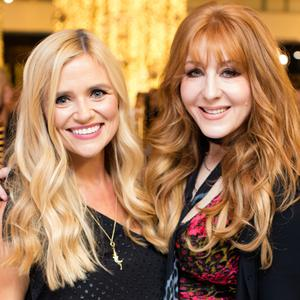 Karen Koster & Charlotte Tilbury at the Charlotte Tilbury Beauty Event at Brown Thomas. Picture: Anthony Woods