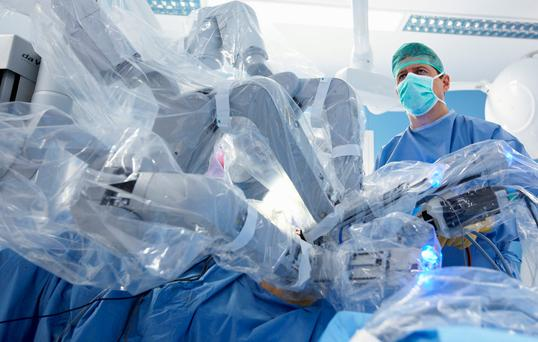 Robotic science: The Da Vinci XI used in prostate cancer surgery in a number of Irish medical facilities