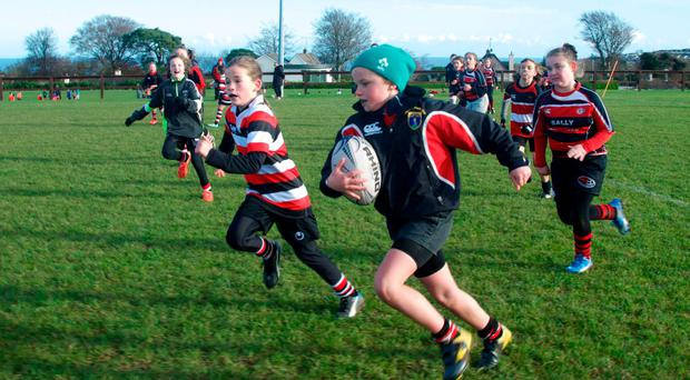 Wicklow RFC hosted a girls' blitz, inviting south eastern teams