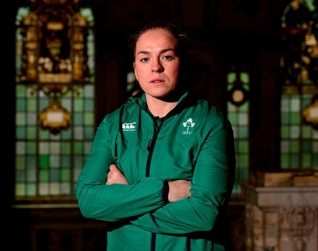 Niamh Briggs will add some know-how to the Irish team on Sunday. Photo: Oliver McVeigh/Sportsfile