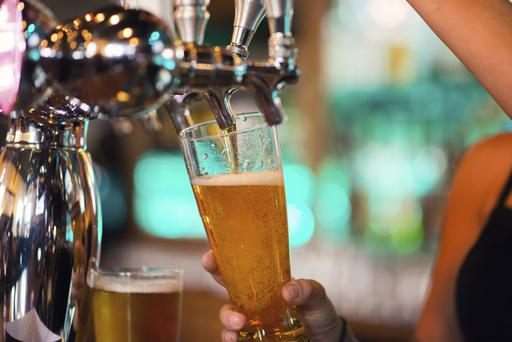 Almost two-thirds of respondents reported high-risk drinking, with men being more likely to admit high-risk drinking relative to women (Stock picture)