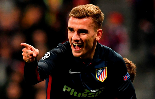 Atletico Madrid's French forward Antoine Griezmann. Photo: AFP/Getty Images