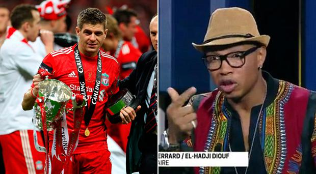 El-Hadki Diouf and Steven Gerrard are not friends