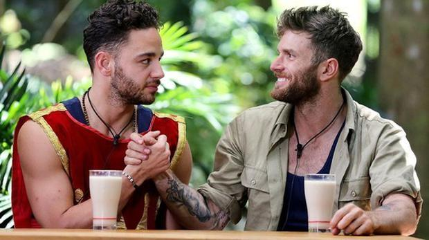 Dommett and Adam - the rivalry is still strong