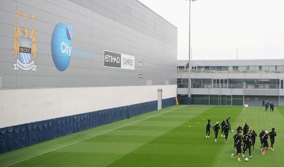 Manchester City boast one of the word's leading football Academies. Getty