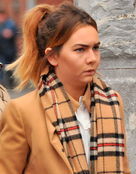 Learner driver Susan Gleeson wept in court as she apologised to the Clancy family Photo: Daragh McSweeney/Provision