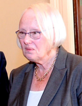 Chairperson of the Citizens' Assembly Justice Mary Laffoy Photo: Justin Farrelly