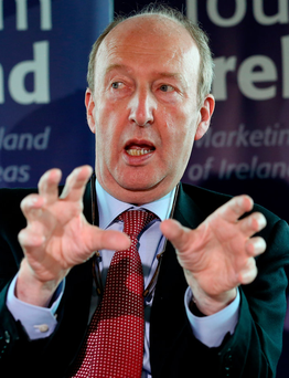 Shane Ross's comments have caused fury among judges Photo: Tom Burke