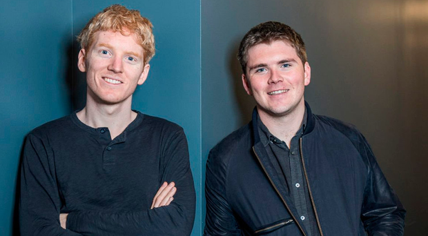 Brothers Patrick, left, and John Collison of Stripe Photo: Kristina K. Weiss DaiLon Weiss