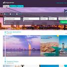 The Skyscanner website as the travel search website is being bought by Chinese giant Ctrip.com in a deal worth £1.4 billion. Photo: PA