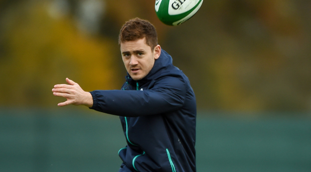 Paddy Jackson needs to boss the game against Australia and put down a marker Photo by Matt Browne/Sportsfile