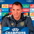 Celtic manager Brendan Rodgers. Photo: Andrew Milligan/PA Wire