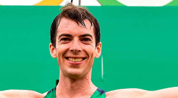 Ireland's Paul Pollock. Photo: Brendan Moran/Sportsfile