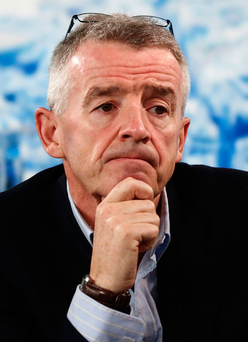 Ryanair chief Michael O'Leary Photo: Bloomberg