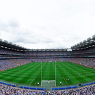 The IRFU receives €4m per annum from Aviva for the Lansdowne Road naming rights, prompting speculation that the GAA would seek to similarly exploit Croke Park for financial gain. Photo: Sportsfile