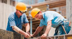 In the last four years, an extra 35,000 people have been taken on in the building industry