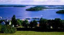 Scenic: The Lower Lough Erne area has some stunning scenery