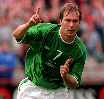 When Jason McAteer scored his glorious goal against the Netherlands in 2001 he was struggling to get into the Blackburn Rovers team