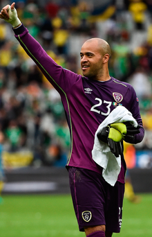 Bilic's decision should further secure Darren Randolph's position as Martin O'Neill's number one on the Ireland squad. Photo: David Maher/Sportsfile