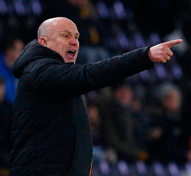 Hull City manager Mike Phelan. Photo: Craig Brough/Reuters