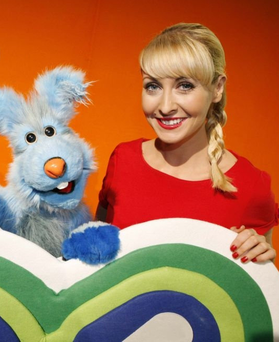 Emma O'Driscoll on popular children's show 'The Den'