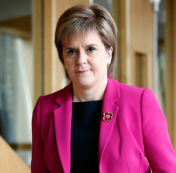 Scotland's First Minister Nicola Sturgeon Picture: PA