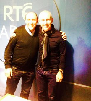 Finnian Kenny speaks with Ray D'Arcy