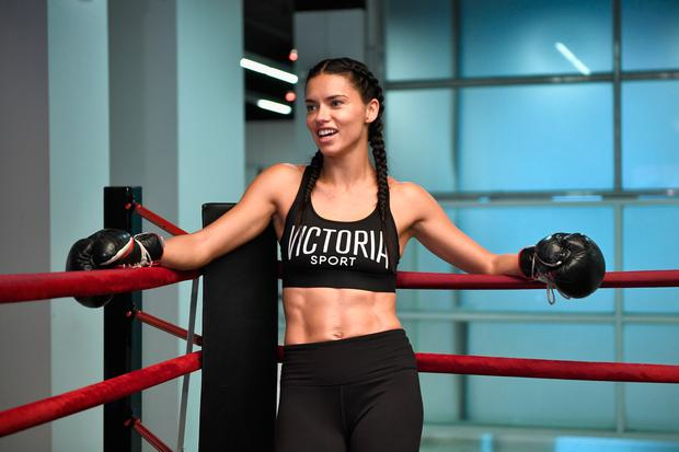 Victoria's Secret hosts Train Like An Angel with Adriana Lima at Aerospace High Performance Center on November 21, 2016 in New York City. (Photo by Dimitrios Kambouris/Getty Images for Victoria's Secret)