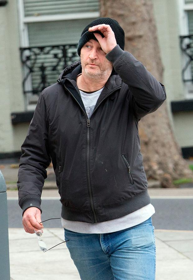 George Crombie who appeared in The Criminal Courts of Justice charged with the rape of his step daughter Laura Johnson. Photo: Tony Gavin 28/11/2016