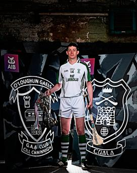O'Loughlin Gaels veteran Martin Comerford in Dublin yesterday ahead of Sunday's AIB Leinster Club SHC final. Photo by Stephen McCarthy/Sportsfile