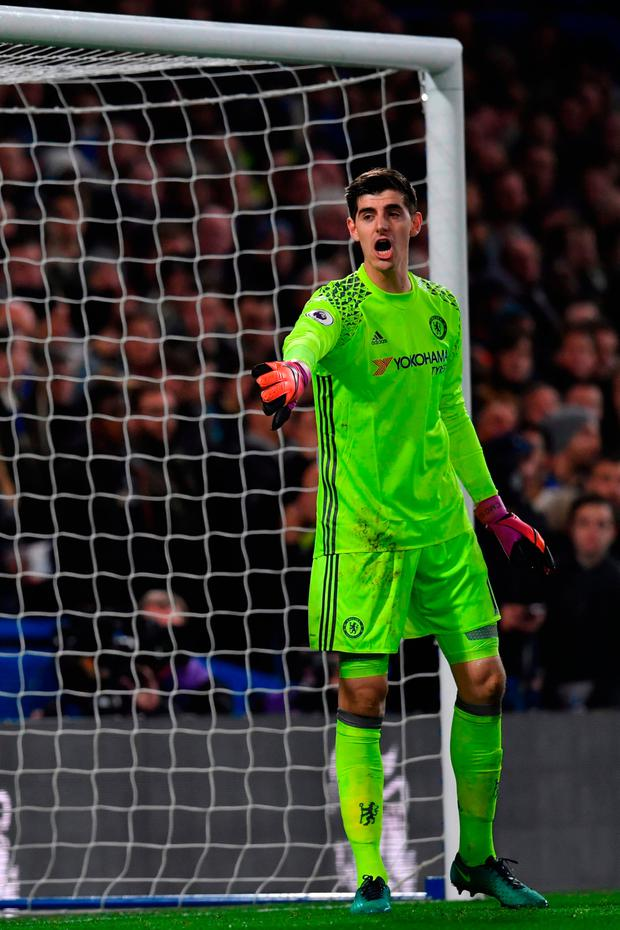 Thibaut Courtois. Pic: Getty Images