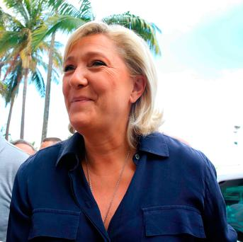 French far-right Front National (FN) party president, Marine Le Pen. Photo: Getty