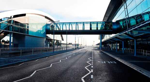 Sky Handling Partner provides ground services at Dublin Airport. Photo: Bloomberg
