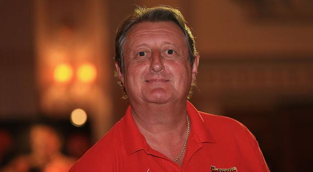 Five-time world darts champion Eric Bristow. Photo: Getty Images