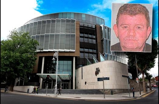 The Central Criminal court and inset Richard O'Brien