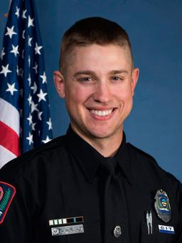 This undated image provided by the Ohio State University Police shows officer Alan Horujko.